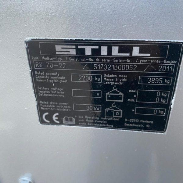 Carretilla elevadora termica Still-Rx70-22