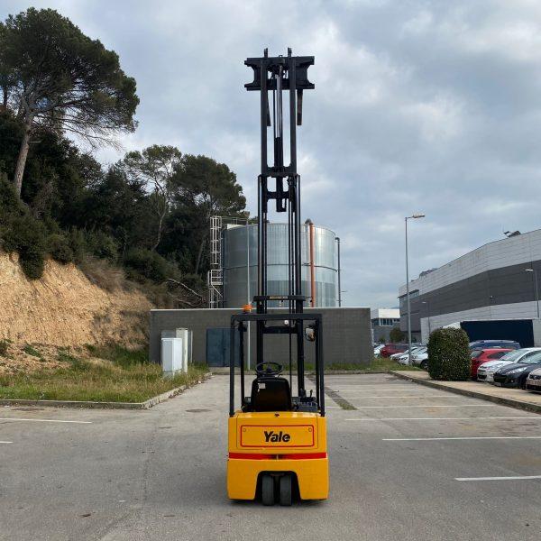Carretilla-elevadora-eléctrica YALE 1600 TRIPLEX