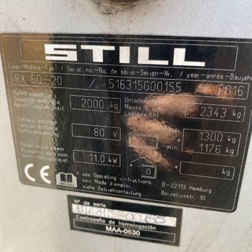 STILL RX60 20 6